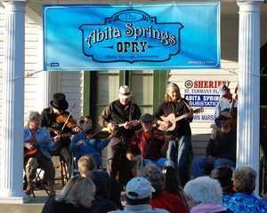 Abita Opry Front POrch Performers